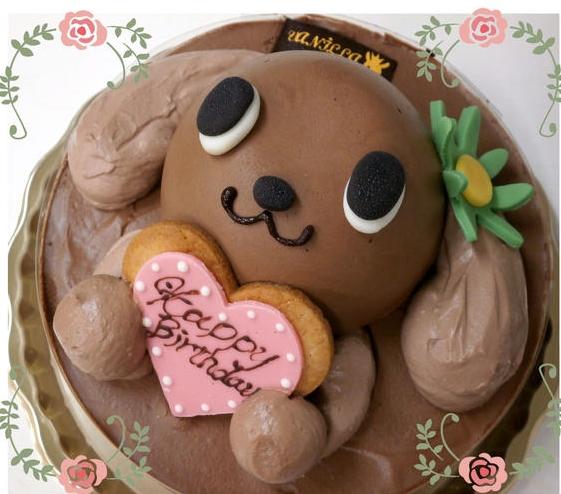 ウサギケーキ6歳誕生日