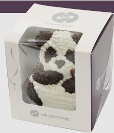 クマ立体ケーキ誕生日