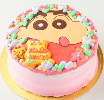 クレヨンしんちゃんキャラケーキ
