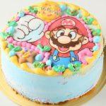 マリオキャラケーキ