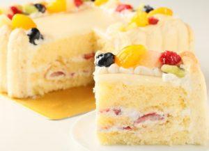 四角いケーキ誕生日