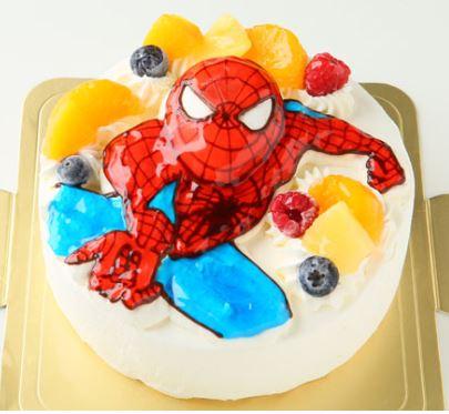 誕生日ケーキ6才