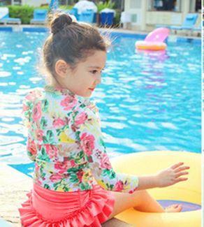 ラッシュガード水着女の子110