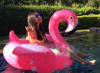 白鳥浮き輪子供